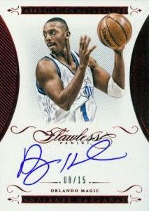 2014-15 Panini Flawless Basketball Association Autographs Penny Hardaway