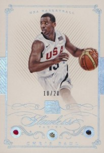 2014-15 Panini Flawless Basketball Base USA Chris Paul