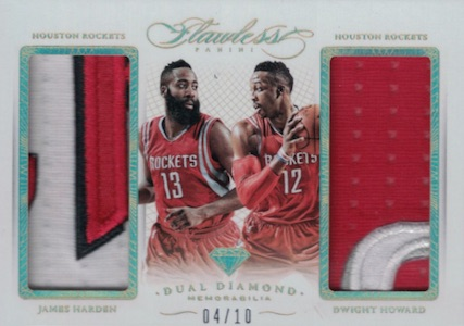 2014-15 Panini Flawless Basketball Dual Diamond
