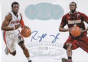 2014-15 Panini Flawless Basketball Now and Then