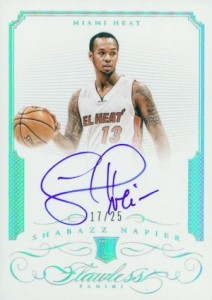 2014-15 Panini Flawless Basketball Rookie Autograph