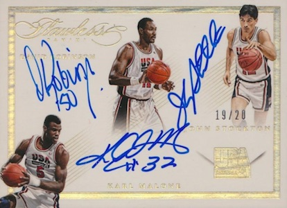 2014-15 Panini Flawless Basketball USA Triple