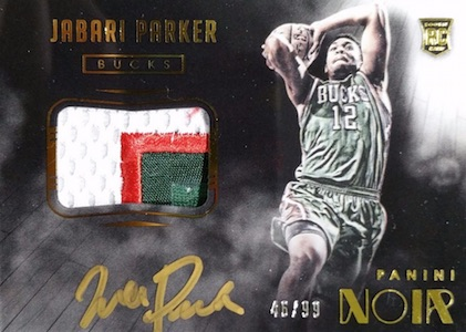 2014-15 Panini Noir Basketball Cards 20