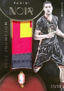 2014-15 Panini Noir Basketball China Jersey Klay Thompson