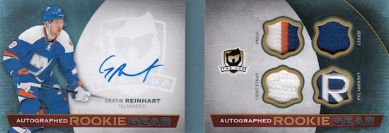 2014-15 Upper Deck The Cup Hockey Autographed Rookie Gear Book
