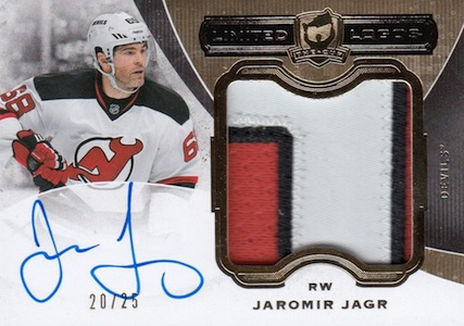 2014-15 Upper Deck The Cup Hockey Limited Logos Jagr