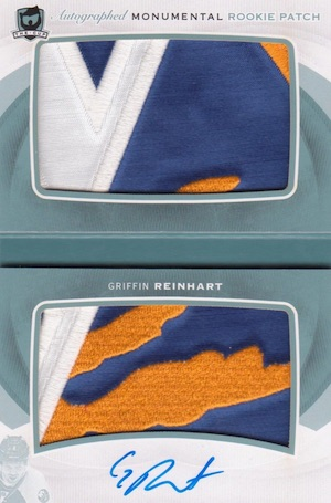 2014-15 Upper Deck The Cup Hockey Monumental Patch Books
