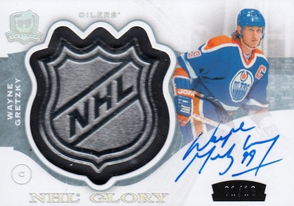 2014-15 Upper Deck The Cup Hockey NHL Glory Wayne Gretzky