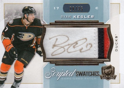 2014-15 Upper Deck The Cup Hockey Scripted Swatches