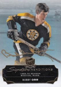 2014-15 Upper Deck The Cup Hockey Signature Renditions