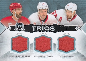 2014-15 Upper Deck The Cup Hockey Trios Jersey