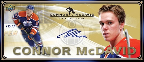 2015-16 Upper Deck Connor McDavid Collection Hockey Cards 3
