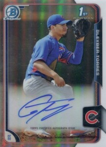 2015 Bowman Chrome Baseball Prospect Autographs