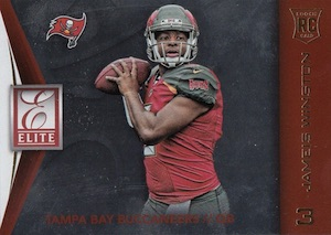 2015 Donruss Football Elite Jameis Winston Rookie