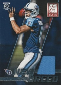 2015 Donruss Football New Breed Jesey Mariota