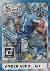 2015 Donruss Football The Rookies
