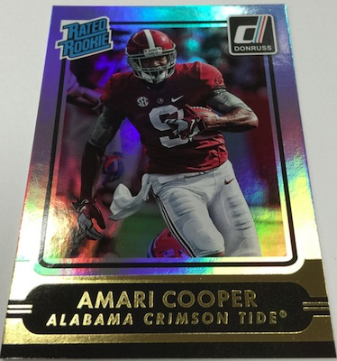 2015 Donruss Football Wrapper Redemption Amari Cooper
