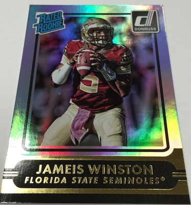 2015 Donruss Football Wrapper Redemption Jameis Winston