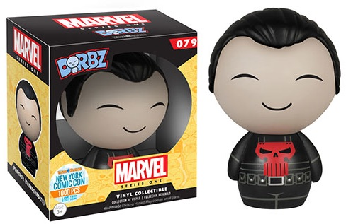 2015 Funko NYCC Marvel Dorbz Thunderbolt Punisher