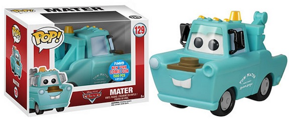 2015 Funko NYCC Pop! Disney Cars Mint Condition Mater