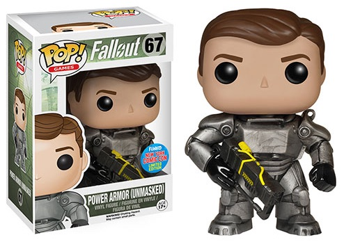 2015 Funko NYCC Pop! Games Fallout - Power Armor (Unmasked)