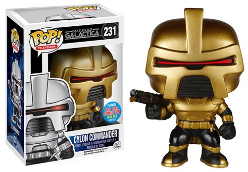 2015 Funko NYCC Pop! TV Battlestar Classic Commander Cylon