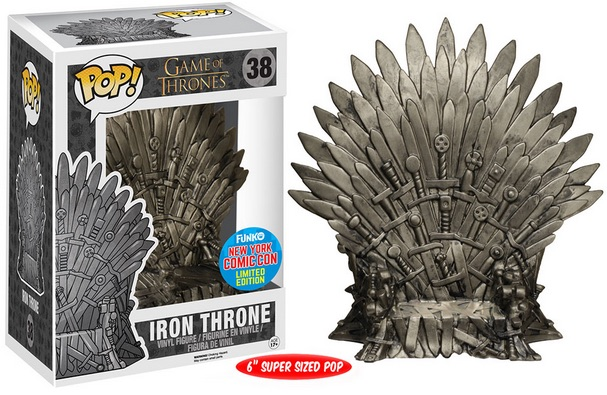 2015 Funko NYCC Pop! TV Game of Thrones Iron Throne