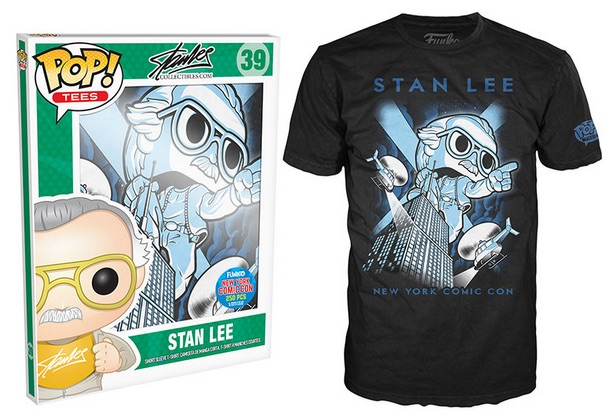 2015 Funko NYCC Pop! Tees Stan Lee - Stan on Empire State Building