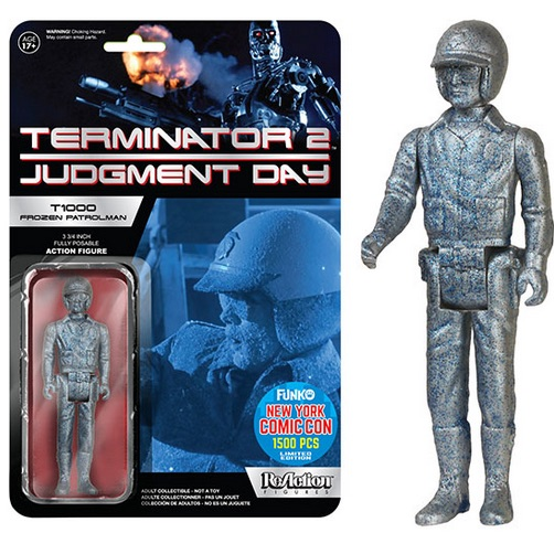 2015 Funko NYCC ReAction Terminator 2 - T1000 Frozen Patrolman