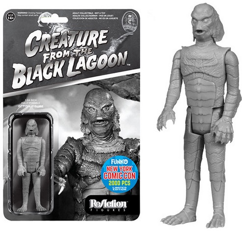 2015 Funko NYCC ReAction Universal Monsters Black & White Creature from the Black Lagoon