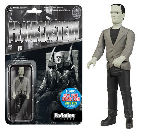 2015 Funko NYCC ReAction Universal Monsters Black & White Frankenstein