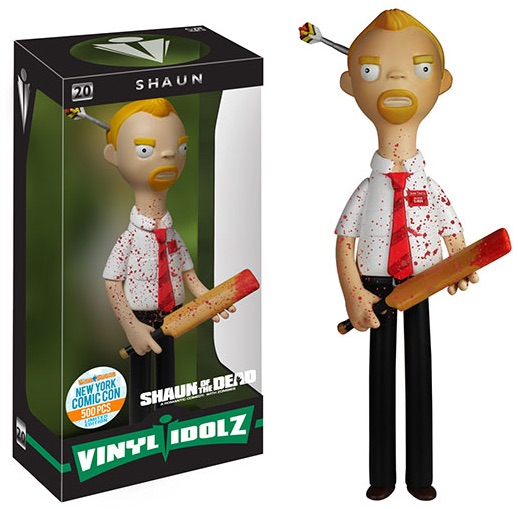 2015 Funko NYCC Vinyl Idolz Shaun of the Dead Bloody Shaun