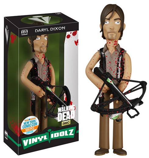 2015 Funko NYCC Vinyl Idolz The Walking Dead - Bloody Daryl