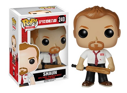 2015 Funko Pop Shaun Of The Dead Vinyl Figures