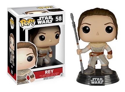 2015 Funko Pop Star Wars The Force Awakens 58 Rey