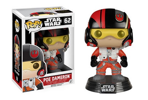 2015 Funko Pop Star Wars The Force Awakens 62 Poe Dameron