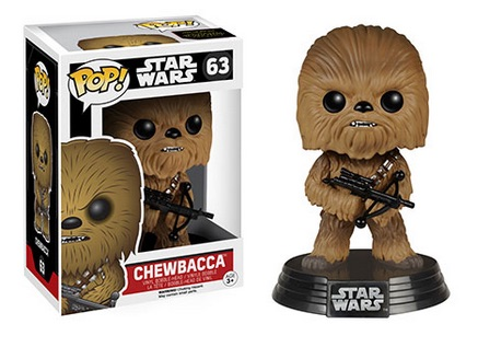 2015 Funko Pop Star Wars The Force Awakens 63 Chewbacca