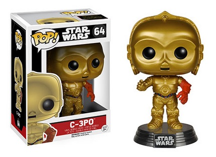 2015 Funko Pop Star Wars The Force Awakens 64 C-3PO