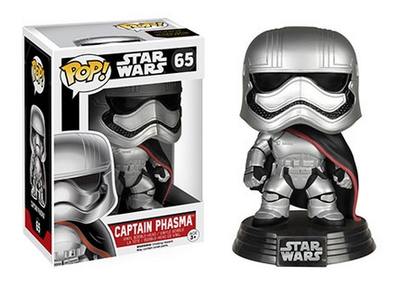 2015 Funko Pop Star Wars The Force Awakens 65 Captain Phasma