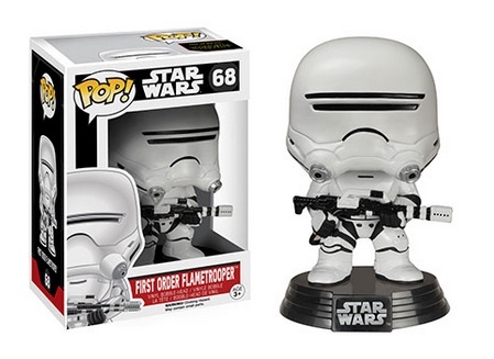 2015 Funko Pop Star Wars The Force Awakens First Order Flametrooper 68