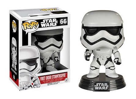 2015 Funko Pop Star Wars The Force Awakens First Order Stormtrooper 66
