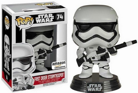 2015 Funko Pop Star Wars The Force Awakens Vinyl Figures Exclusive 74 First Order Stormtrooper Gun