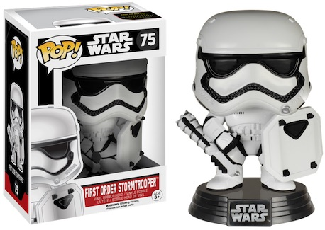 2015 Funko Pop Star Wars The Force Awakens Vinyl Figures Exclusive 75 First Order Stormtrooper Shield
