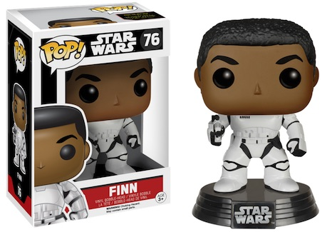 2015 Funko Pop Star Wars The Force Awakens Vinyl Figures Exclusive 76 Finn Strormtrooper
