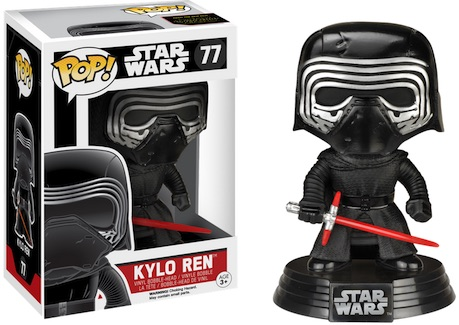 2015 Funko Pop Star Wars The Force Awakens Vinyl Figures Exclusive 77 Kylo Ren no hood