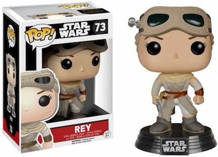 2015 Funko Pop Star Wars The Force Awakens Vinyl Figures Exclusive Rey Goggles