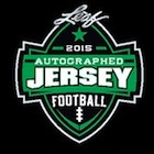 2015 Leaf Autographed Jersey Football