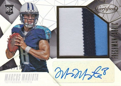 Marcus Mariota Rookie Cards Guide and Checklist 3