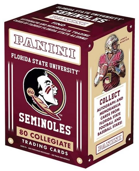 2015 Panini Florida State Collegiate Trading Cards 3