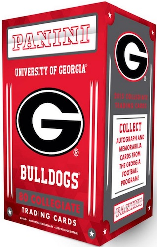 2015 Panini Georgia Bulldogs Collegiate Trading Cards 3